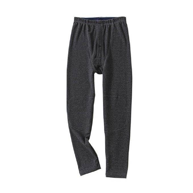 Mmllse Otoño E Invierno Pantalones Calientes De Los Hombres Pijamas Flojos Cómodos Pijamas XL
