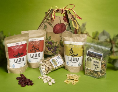 Organic Snack Attack Health Gift Basket by It's Only Natural Gifts