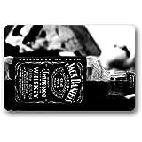 SENL Doormats Jack Daniels Home Decor Door Mats Doormat Mat 23.6(l) X 15.7(w) Dirt Buster