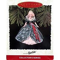 Adorno de recuerdo, Holiday Barbie, Serie de coleccionista, Tercero de la serie Holiday Barbie. Hecho a mano, fecha 1995