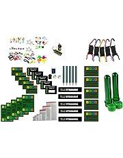 61-delige grote navulset - logboeken en stickers - onderhoudsset Maintenance Kit Geocaching Petling Logboeken filmdozen Micro Nano, Cache Container, Cache Verstopplaats