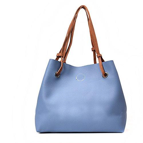 madre nuevo color Bolso conjuntos Bolso de azul Bolso Hombro de dos Bolso éxito blue 8CnqAw