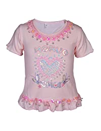 Miss Vanilla Kids Girls Embroidered Butterfly Crochet Cotton Vest Tank Top Age 2-14 Years