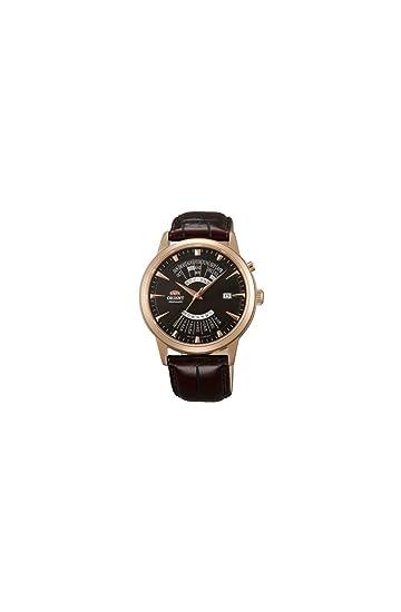 Orient Reloj Análogo clásico para Hombre de Automático con Correa en Cuero FEU0A001TH: Amazon.es: Relojes