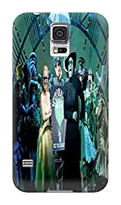 Samsung Galaxy s5 Case, Thin Flexible TPU Plastic Case Samsung Galaxy s5 Case Never Grow Up,New Style Fashionable Designed