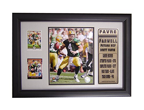 NFL Dallas Cowboys Emmitt Smith 2-Card Frame, with Photo and Card, 12-Inch by 18-Inch (Emmitt Smith Football Jersey)