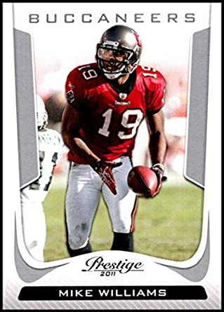 d1f74dcfb 2011 Panini Prestige  189 Mike Williams NM-MT Tampa Bay Buccaneers Official NFL  Football