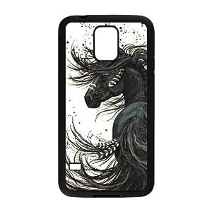 JJZU(R) Design New Fashion Cover Case with Horse for SamSung Galaxy S5 I9600 - JJZU898772