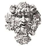 Design Toscano Bacchus God of Wine Greenman Wall Sculpture in Antique Stone