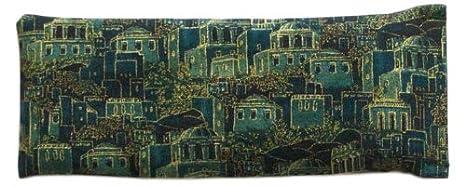 Eye Pillow-Jerusalem. Cotton fabric. Unscented. Scentsual Eye Pillows