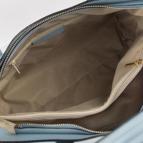 Schoudertas 71069 leer een voor damesgrijs van myitalianbag ander 5zw1FOOq