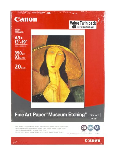 Fine Art Paper Museum Etching 13 x 19 Inches (40 Sheets)