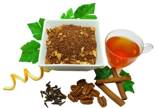 The Green Teahouse Organic Pecan Cinnamon Roll Rooibos Tea Loose Leaf, ()