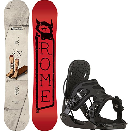 152 cm mens snowboard package - 1