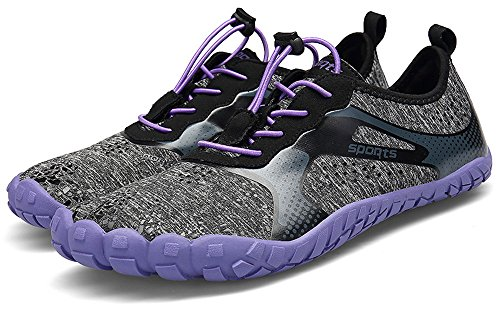 Violett Outdoor 7 PORTANT 46 36 Unisex Barfußschuhe Fitnessschuhe qS0pSF
