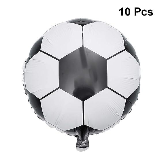 Amosfun Copa Mundial de Fútbol Fútbol Fútbol Aluminio Globos ...