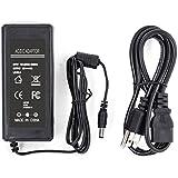 BINZET AC to DC 12 Volt 6 Amp Power Supply Adapter Converter Regulator, 5.5mm x 2.1mm DC Plug, 12V 6A 72W Wall Plug Switch for DC12V 5050 LED Strip Lights