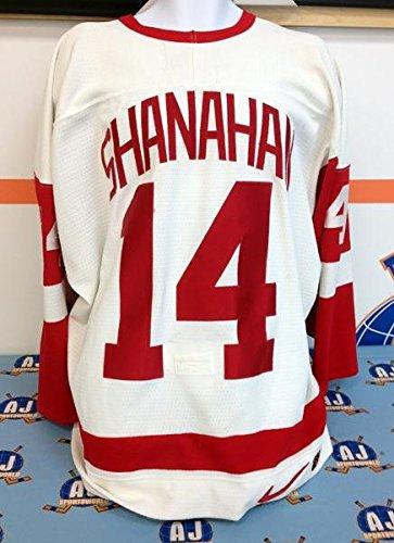 Brendan Shanahan Detroit Red Wings Game Used Jersey