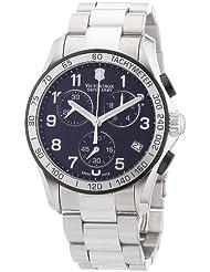 Victorinox Swiss Army Mens 241403 Chrono Classic Chronograph Black Dial Watch