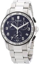 Victorinox Swiss Army Men's 241403 Chrono Classic Chronograph Black Dial Watch