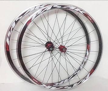 JKLapin Ruedas de 700 C para Bicicleta de Carretera, ultraligeras ...
