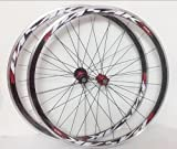Road Bike Ultra-Light Sealed Bearing 700C Wheels Wheelset Only 1650g 30MM Rim