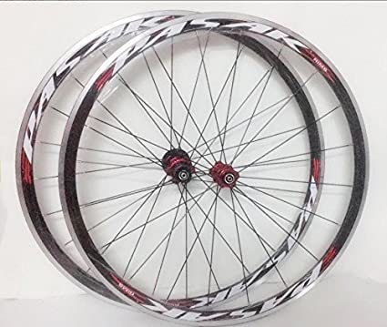 3944bb24def Amazon.com : JKLapin Road Bike Ultra-Light Sealed Bearing 700C Wheels  Wheelset Only 1650g 30MM Rim : Sports & Outdoors