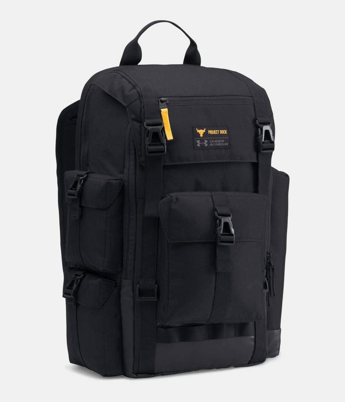 Under Armour UA x Project Rock Freedom Regiment Backpack OSFA Black