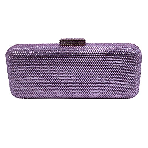 Bags Crystal DMIX Box Clutch Evening Pink qRanF1