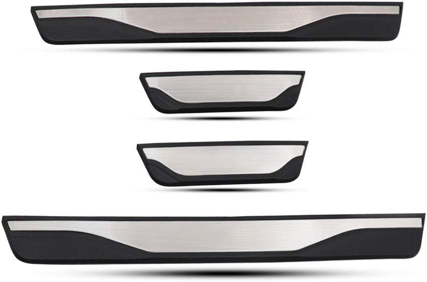 Lfotpp Edelstahl Einstiegsleisten Abdeckung Für Stonic Türschweller Schutz Leisten Auto Zubehör 4 Stück Auto