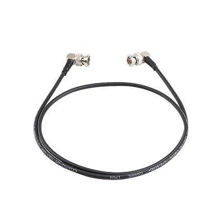 Zhiyou Cable HD-SDI macho a macho para cámaras BMCC BMPC, conexión de 90
