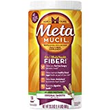Metamucil Sugar-Free, Original Smooth Texture Fiber Laxative/Fiber Supplement,  23.3-Ounces Canister