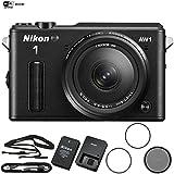 Nikon AW1 Waterproof Shockproof Digital Camera (27665B) Black + AW...