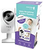 Cocoon Cam Plus HD Video Baby Monitor with No-Wearables Vital Sign Monitoring, 2-Way Audio, Cry Detection, Real-Time Alerts, Sleep and Movement Sensing