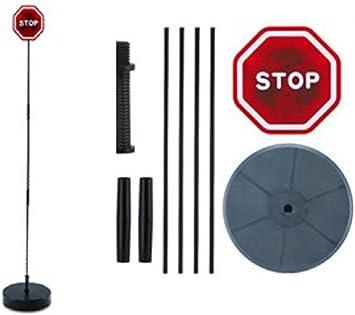 Led Einparkhilfe Stop Schild Mit Blinkenden Leds Und Elektronik