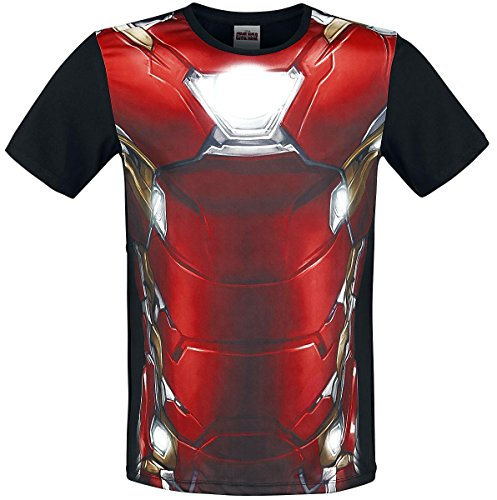 Iron Man Civil War - Costume T-Shirt multicolour M