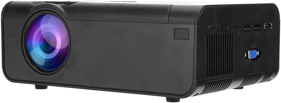 Opinión sobre Heayzoki Proyector, proyector HDMI portátil Pantalla LCD TFT de 4 Pulgadas Sistema de Entretenimiento en el hogar para PC, computadora portátil y para iOS/Otros teléfonos(European regulations)