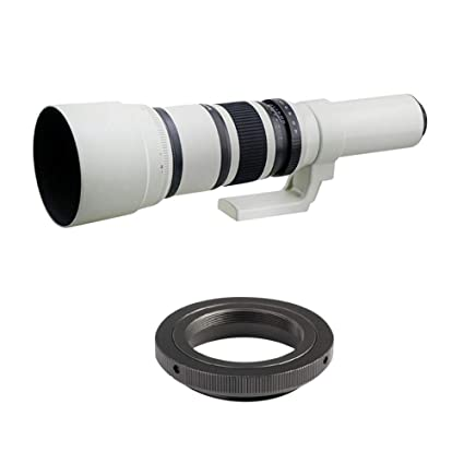 Lente de teleobjetivo de enfoque fijo de 500Mmf / 6.3, cámara SLR ...