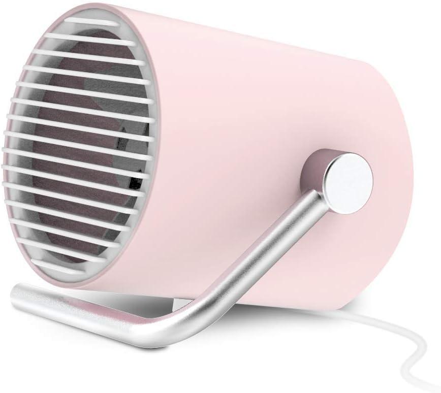 EasyAcc Ventilador Personal Portátil USB Mini Ventilador de Escritorio Ventilador Silencioso de Dos Cuchillas con Control Táctil Ventilador Ajustable para Hogar, Oficina: Amazon.es: Electrónica