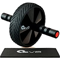 Yoga EVO Abdominal Trainer Kit - Ab Wheel + Knee Pad +...