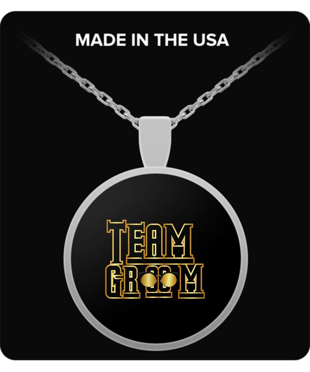 De Look Team Groom Wedding Party Necklace