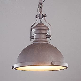 Industrial Single-Light Pendant Light - LITFAD 12\