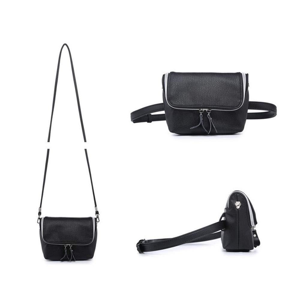 Women Belt Bags Women Waist Bum Bag PU Leather Belt Bag with Shoulder Strap Multifunctional Lightweight Zipper Fanny Pack Cross-Body Shoulder Bag Travel Outdoor Sport Bag for Women Cross Body