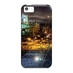 Brand New 5c Defender Case For Iphone (pedestrian Bridge To A Stadium Hdr)