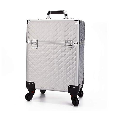 RHVG Estuche de Aluminio para cosméticos, salón de Belleza ...