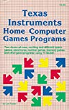 img - for Texas Instruments Home Computer Games Programs book / textbook / text book