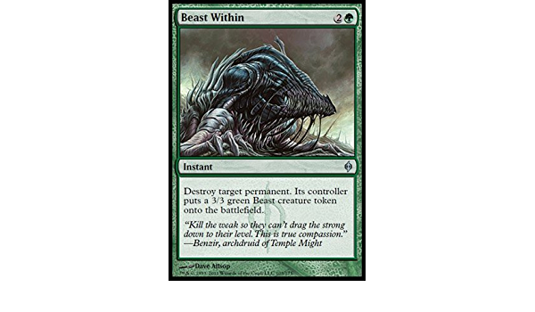NM MTG Foil Beast Within  New Phyrexia