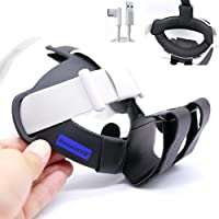 2021 BeswinVR Halo Padding Kit 3 in 1 & Power Bank Holder for Oculus Quest 2 Strap, Halo Strap and Bobo VR M2- Black