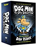 Book cover from Dog Man: The Epic Collection: From the Creator of Captain Underpants (Dog Man #1-3 Boxed Set) by Dav Pilkey