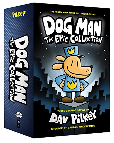 Dog Man: The Epic Collection: From the Creator of Captain Underpants (Dog Man #1-3 Boxed Set) ()
